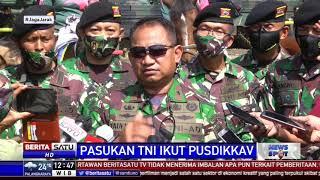 Pasukan TNI Ikuti Pusdik Kav Di Padalarang