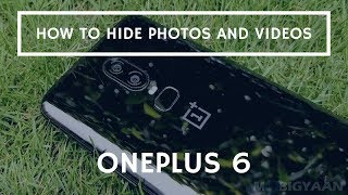 How to hide photos and videos on OnePlus 6 [Hindi]