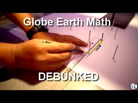 Flat Earth | Globe Earth Math - 100% Debunked