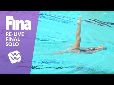 Re-Live - Final Solo - FINA World Junior Synchronised Swimming Championships 2016