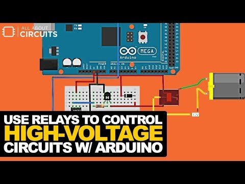 How to Use Relays to Control High-Voltage Circuits with an