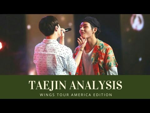 Taejin Analysis: V and Jin made up after their fight [ 태진 | 뷔진 ]