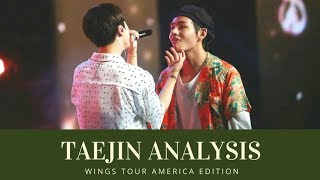 Taejin Analysis V and Jin made up after their fight 태진 뷔진