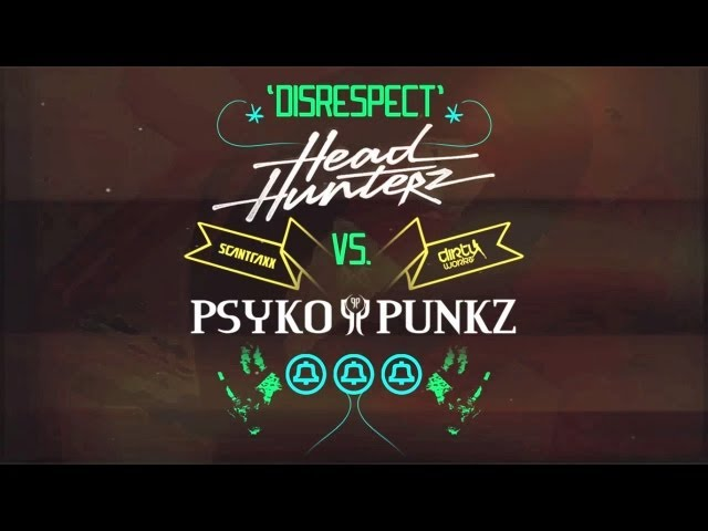 Headhunterz vs Psyko Punkz - Disrespect
