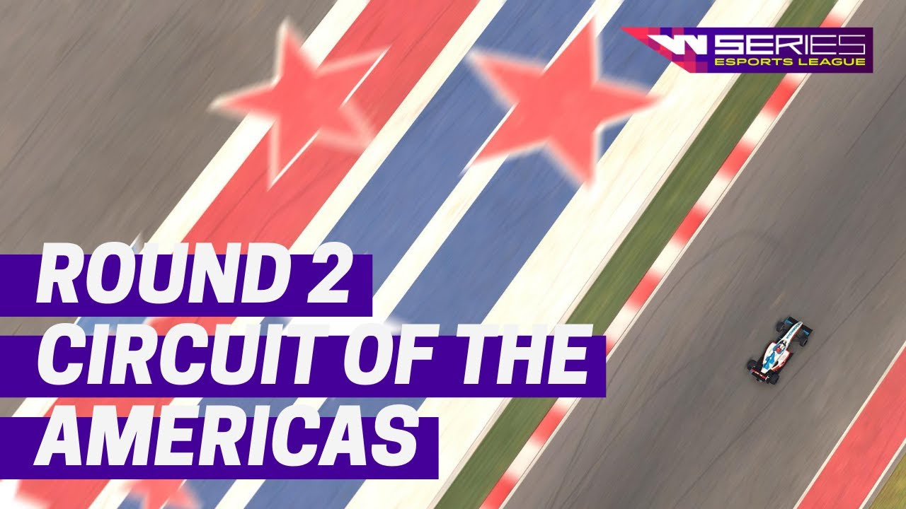 Live: W-Series Esports League Round 2 at COTA