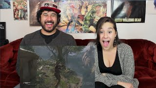 UNCHARTED 4: A THIEF'S END GAMEPLAY TRAILER REACTION!!!