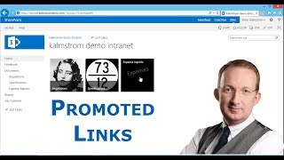 SharePoint Promoted Links