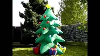 Новогодние надувные фигуры в Краснодаре(ООО