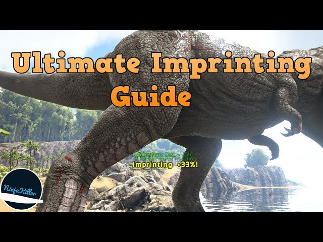 how to raise imprinting percentage on your ark ps4 nitrado