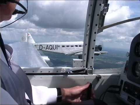 JU 52 und Saab 91b