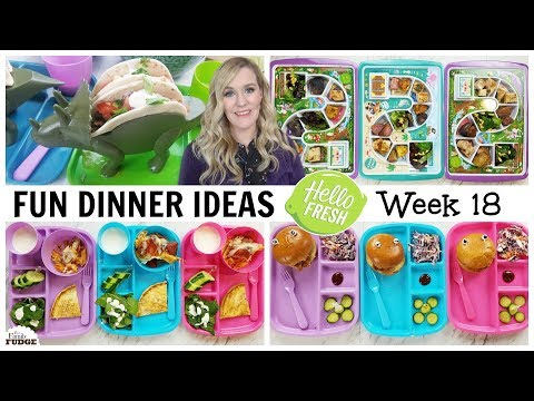 FUN Dinner Ideas + What They Ate || Bunches of Lunches (Dinner Edition) w/ HELLO FRESH