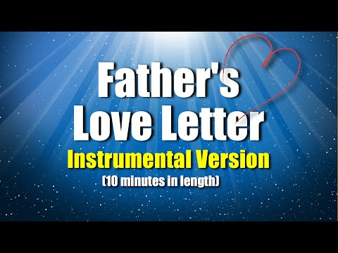 Father's Love Letter Instrumental