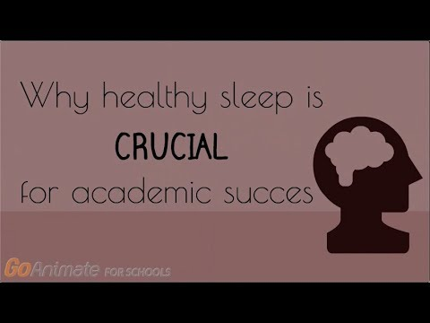 Why healthy sleep is crucial for academic success