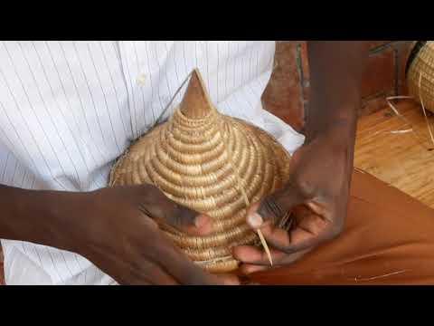 The making of a Rwanda Peace Basket