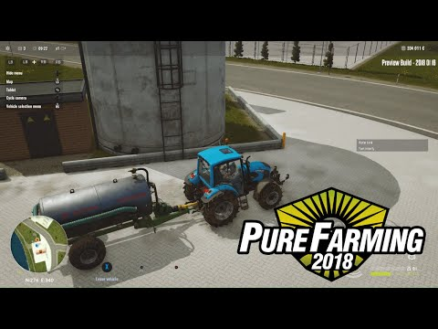 PURE FARMING 2018 - Irrigation, Fertilization