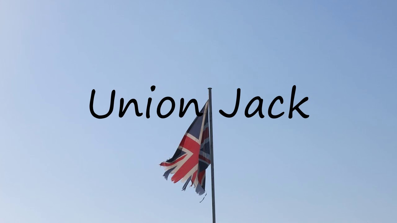 How To Say Union Jack In English Youtube