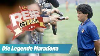 Der Junge, der nur kicken wollte: Der Mythos Maradona | Reif ist Live