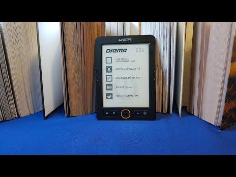 Электронная книга Digma R654, обзор!