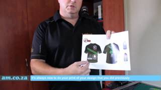 How to Print T-Shirt by Vinyl Cutter from AM.CO.ZA