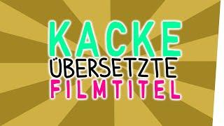 Kacke übersetzte Filmtitel