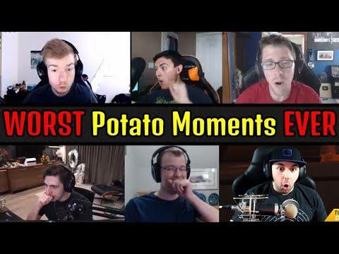 Worst Streamers & Pros Potato Moments Caught Live on Stream