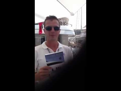 Yachting Pages Crew Testimonial During Monaco Yacht Show 2012