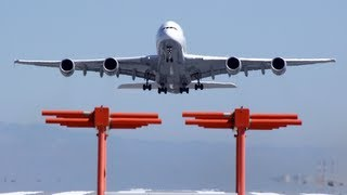 "PilotsEYE.tv No.12   San Francisco A380   ""The final flights of JR""   TakeOff SFO, Teaser short"