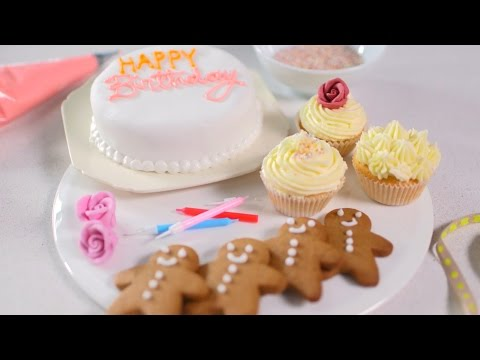 Basic piping icing techniques tutorial - BBC Good Food