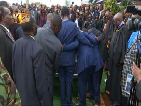 Late Nyeri Governor Dr. Wahome Gakuru laid to rest