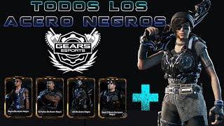 """Gears of War 4 l Todos los Personajes Acero Negro l Packs Actualizados  """" 1 to 10 """" CGO  l 1080p"""