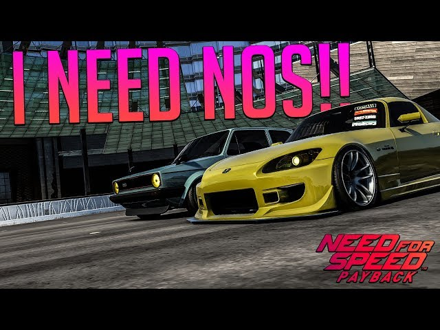 NOS POWER!! - NFS Payback Online! #1 W/The Lads