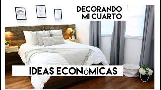 Gambar cover IDEAS económicas para decorar tu cuarto/ Tour / Decora conmigo!