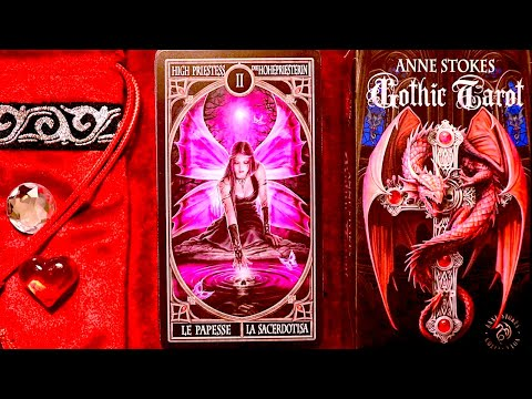 Gothic Tarot By Anne Stokes