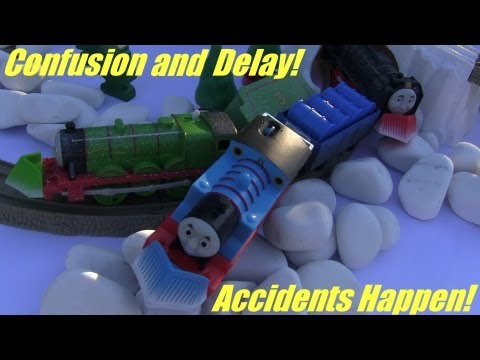 Thomas' Accidents Happen! Confusion and Delay! Thomas, Henry and Hiro