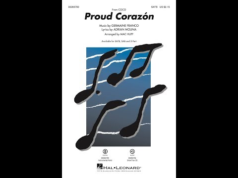 Proud Corazón (SATB) - Arranged by Mac Huff