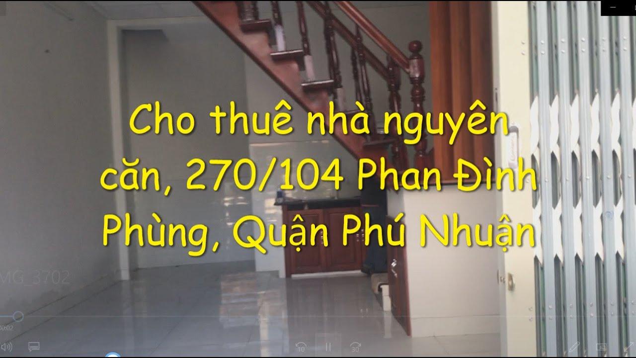 image (14) Cho thuê nhà nguyên căn 270/104 Phan Đình Phùng, P1, Quận Phú Nhuận