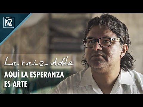 Aquí la esperanza es arte: Demián Flores, La Curtiduría, Oaxaca