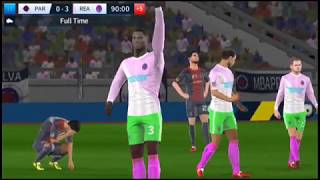 Paris vs Real Madrid Dream League Soccer 2018   Android Gameplay #104
