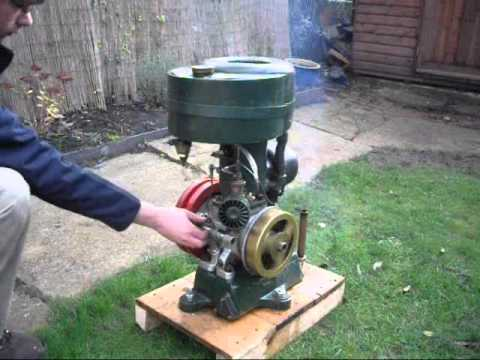 1928 Villiers WX11 LZH vintage stationary engine - YouTube