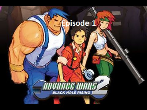 Fr Episode 1 Advance Wars Black Hole Rising Gba Youtube