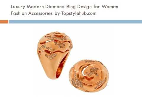 Topstylehub women luxury diamond and gold jewelery accessories