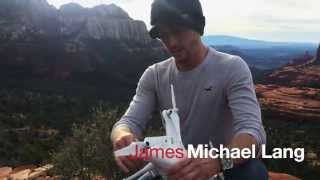 How to use the drone to make cool videos - James Michael Lang, Sedona