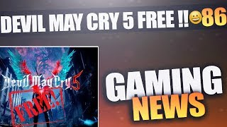 Gaming News#86| DMC 5 FREE on PS4?? + Fortnite in Danger | HINDI |