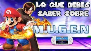 Todo lo que debes saber sobre MUGEN para PSP | luigi2498