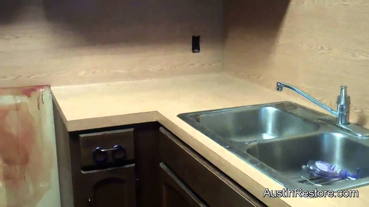 Painting Kitchen Countertops   YouTube