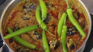 Hyderabadi Mirchi ka Salan - Mirch Baingan Ka Salan - As shown In Live Cooking
