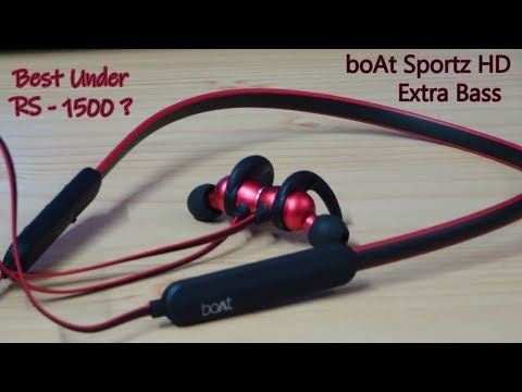 Boat 255 HD Extra Bass Bluetooth Earphone Review | Immersive Stereo Sound