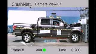 Ford F-150 SuperCrew | 2011 | Frontal Crash Test | NHTSA | CrashNet1
