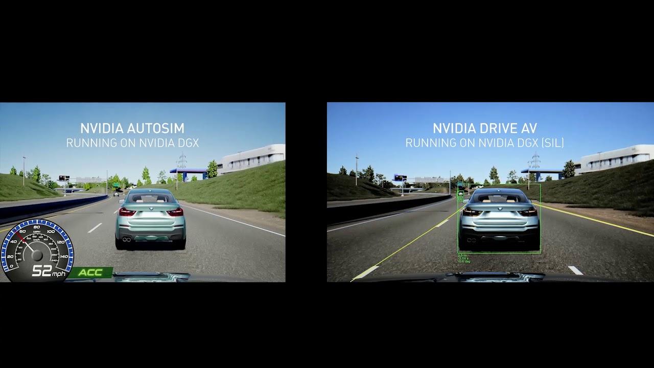 NVIDIA Automotive Simulation