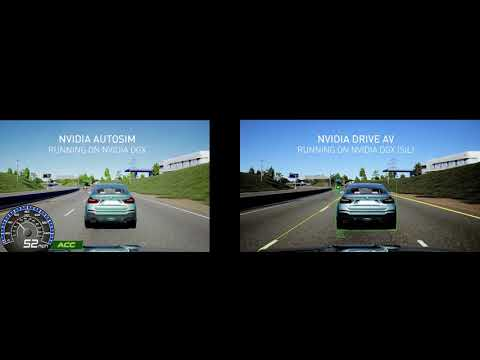 NVIDIA Automotive Simulation